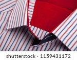 classic men's shirt collar... | Shutterstock . vector #1159431172