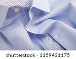 classic men's shirt collar... | Shutterstock . vector #1159431175