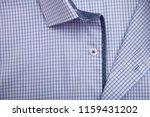 classic men's shirt collar... | Shutterstock . vector #1159431202