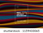 distortion of lines. modern... | Shutterstock .eps vector #1159433065