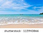 marine landscape.  khao lak...   Shutterstock . vector #115943866