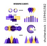 infographic elements  data... | Shutterstock .eps vector #1159441582