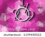 2019 happy new year background... | Shutterstock .eps vector #1159450522