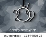 2019 happy new year background... | Shutterstock .eps vector #1159450528