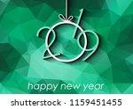 2019 happy new year background... | Shutterstock . vector #1159451455