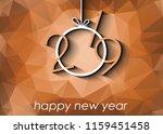 2019 happy new year background... | Shutterstock . vector #1159451458