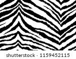Stripes Of Zebra. Background O...