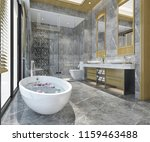 3d rendering luxury modern... | Shutterstock . vector #1159463488