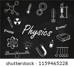 back to school. physics lesson   Shutterstock .eps vector #1159465228