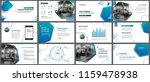presentation and slide layout... | Shutterstock .eps vector #1159478938