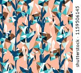 organic floral pattern with... | Shutterstock .eps vector #1159506145