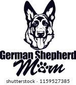 german shepherd pedigree dog...   Shutterstock .eps vector #1159527385