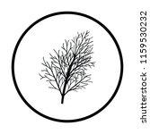 dill icon. thin circle design....   Shutterstock .eps vector #1159530232