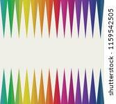 spectrum  seamless frame for... | Shutterstock .eps vector #1159542505