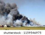 The Fire And Big Smoke Cloud