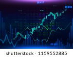 stock market or forex trading... | Shutterstock . vector #1159552885