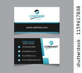 business card design.   Shutterstock .eps vector #1159617838