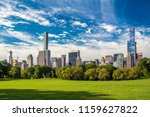 view from central park to the... | Shutterstock . vector #1159627822