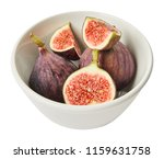 fresh raw ripe figs in ceramic... | Shutterstock . vector #1159631758