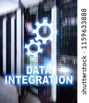 data integration information... | Shutterstock . vector #1159633888
