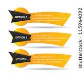 vector paper progress... | Shutterstock .eps vector #115964092