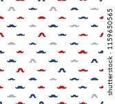 moustaches seamless patterns...   Shutterstock .eps vector #1159650565