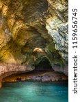 algarve seashore and caves.... | Shutterstock . vector #1159656745