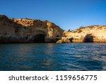 algarve seashore and caves.... | Shutterstock . vector #1159656775