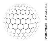 hexagon simple illustration of...   Shutterstock .eps vector #1159667218