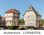 bad kreuznach  brueckenhaeuser  ...   Shutterstock . vector #1159685518