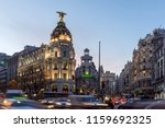 madrid  spain   january 23 ... | Shutterstock . vector #1159692325