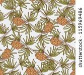 cone seamless pattern | Shutterstock .eps vector #115969486