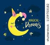 vector template night cards... | Shutterstock .eps vector #1159703182
