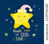 vector template night cards... | Shutterstock .eps vector #1159703185