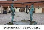 prague  czech republic   feb 11 ...   Shutterstock . vector #1159704352
