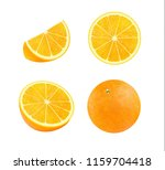 bright vector set of colorful... | Shutterstock .eps vector #1159704418