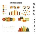 infographic elements  creative... | Shutterstock .eps vector #1159715332