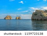 take a boat trip to the crimea... | Shutterstock . vector #1159723138