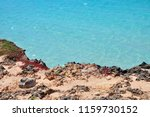 rocky steep coast in the... | Shutterstock . vector #1159730152