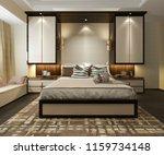 3d rendering beautiful luxury...   Shutterstock . vector #1159734148