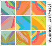 abstract collage asymmetric... | Shutterstock .eps vector #1159746808