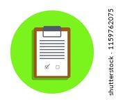 colored checklist in green...