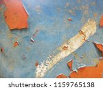 old steel is peeling color... | Shutterstock . vector #1159765138