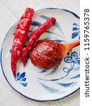 korean sources red pepper paste ... | Shutterstock . vector #1159765378