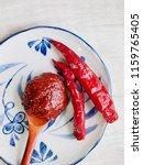 korean sources red pepper paste ...   Shutterstock . vector #1159765405