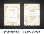 wedding invitation templates.... | Shutterstock .eps vector #1159770925