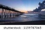 a north carolina fishing pier... | Shutterstock . vector #1159787065