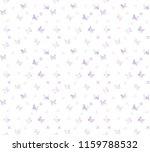 butterfly pattern background | Shutterstock .eps vector #1159788532