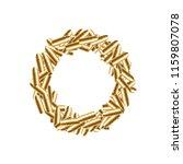 alphabet bullet set letter o...   Shutterstock .eps vector #1159807078