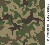 military camouflage  texture... | Shutterstock .eps vector #1159810888